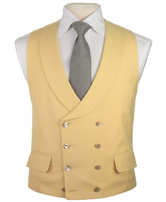 Latest Coat Pant Designs Champagne Beige Ivory Vest Double Breasted Vests Shawl Lapel Waistcoat Slim Fit Tuxedo Terno Masculino