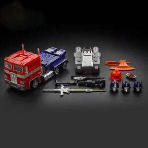 Image 2 - 18 Centimetri Kbb Mp10 Ko Modello di Trasformazione G1 Robot Giocattolo in Lega di Metallo Op MP10V Comandante Diecast Collezione Voyager Action Figure regalo