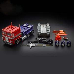 Image 2 - 18cm kbb mp10 KO Model transformacji G1 zabawka robot stop metali OP MP10V dowódca Diecast kolekcja Voyager figurka prezent