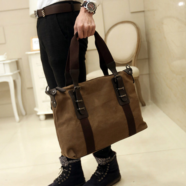 4a874cf9a9 Tidog korean men s bags men canvas bag shoulder bag business bag-in ...