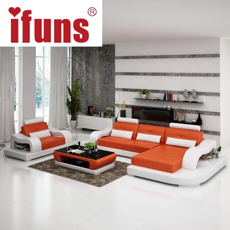Aliexpress.com : Ifuns Modernen Roten Liege Sofa, 2016 Neue Design  Wohnzimmer Wohnmöbel, Luxus Leder Sofa Setzt Von Verlässlichen Leather Sofa  ...