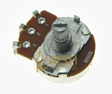 10pcs B250K Electric Guitar Linear Pots 24mm Base Short Shaft Potentiometers
