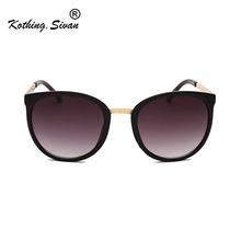 BRAND DESIGN Women Cat Eye Sunglasses Vi
