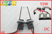 All Model All Temp Color Option DC12V 55W HID Slim Ballast Conversion Kit Single Beam Slim