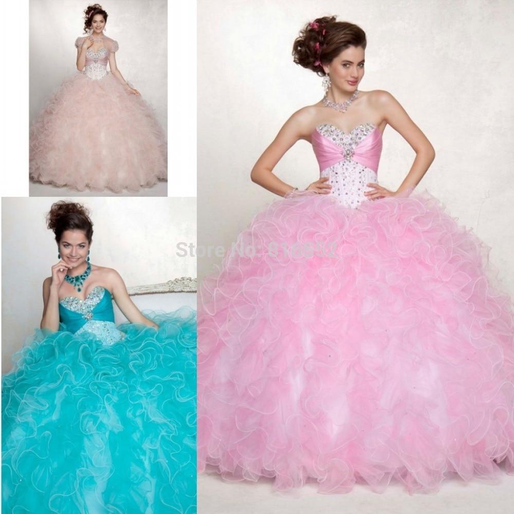 Aliexpress.com : Buy 2017 Hot Sale Light Pink Quinceanera Dresses ...