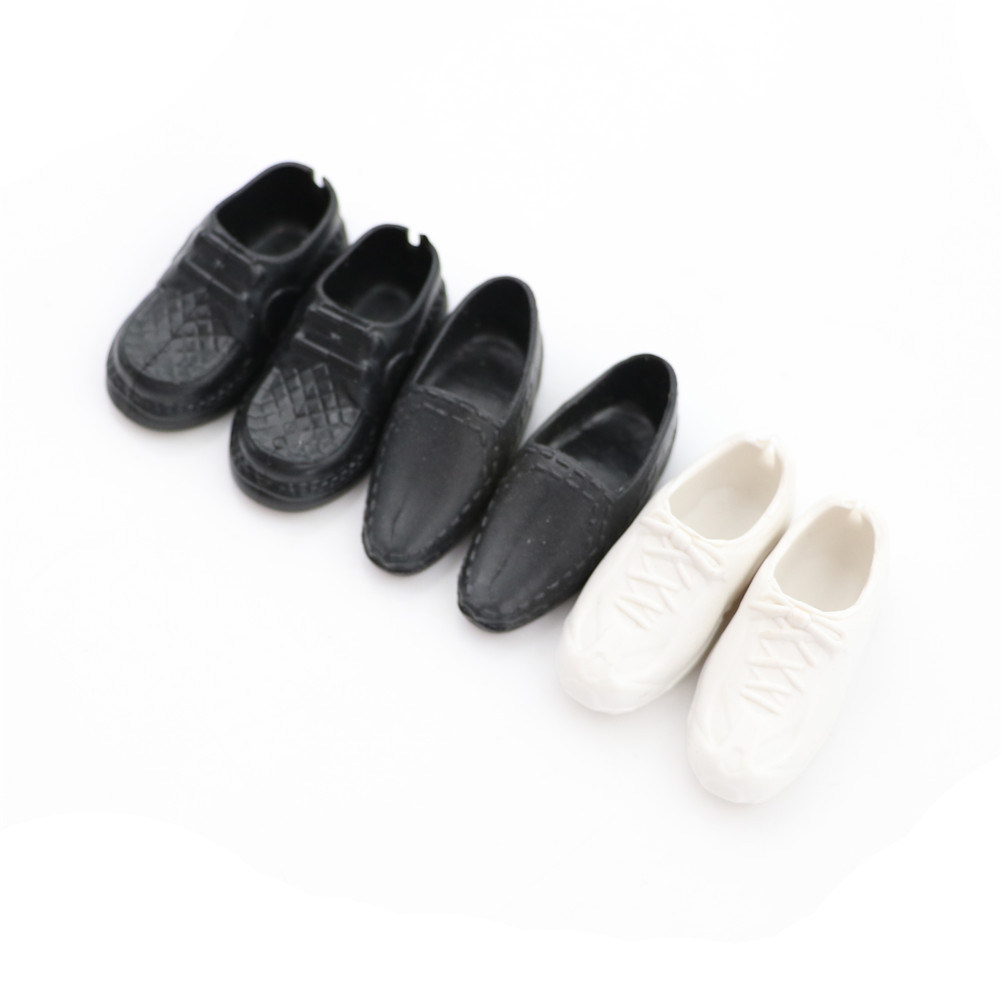 4 Pairs Dolls Cusp Shoes Sneakers Knee High Boots for doll Boyfriend Ken OD