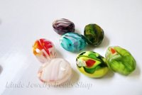 Free Shipping! 200pcs/pack Wholesale Oval Faced beads mixed colour 200pcs NEW MATERIAL