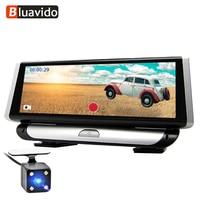 Bluavido 8 IPS 4G Android Car DVR Dash Camera GPS Navigation ADAS FHD 1080P auto video Registrar Recorder with reverse camera