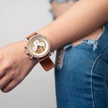 Dřevěné hodinky – Lee