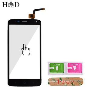 Image 4 - 100% dokunmatik ekran digitizer Cam Panel Için ZTE Blade L2 artı L370 C370 L2Plus Ön Dokunmatik Ekran Yapıştırıcı + Ekran Koruyucu Hediye
