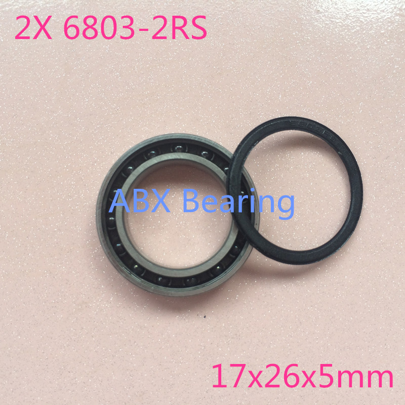 1pcs 6902-2RS Sealed Full Ceramic Bearing ZrO2 Ball Bearing 15x28x7mm