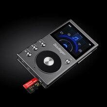 Sotege HP-1 Портативный MP3-плеер HiFi HD без потерь DSD64/128/256 Запись аудио движение hi-res Музыкальный плееров Поддержка max 256 ГБ