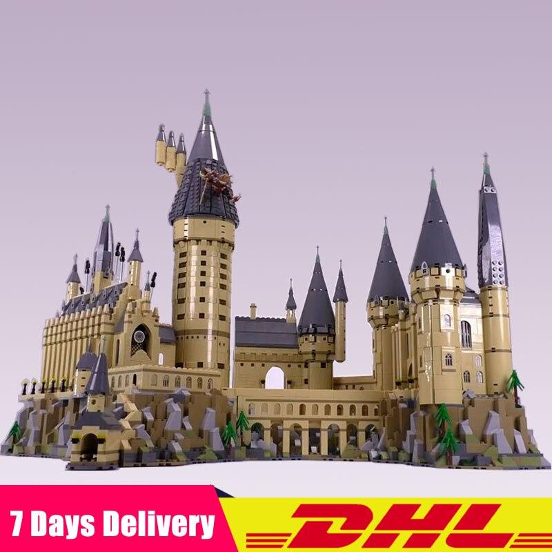 Lepin 16060 6742 piezas clásico película Hogwarts Castillo modelo bloques ladrillos niños juguetes Compatible Legoings 71043 regalos