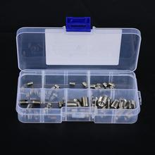 60Pcs/set  Stainless Steel Screw Thread Insert Self-tapping Inserts thread repair kit Hardware Repair Tools