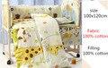 J Ghee edredón Del Bebé juego de cama cuna de algodón 100% edredón de cama de invierno cubierta multifunción sacos de dormir edredón de diseño de dibujos animados