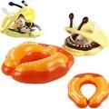 Piscina inflável bebê natação anel Float assento duplo círculo de mãe e mãe círculo de natação anel criança