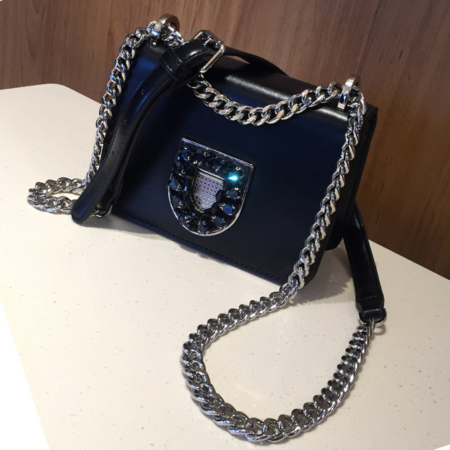 cf04d0b459c2 US $66.88 |Aliexpress.com : Buy Women Messenger Bags High Quality PU  Leather Women Handbag Design Famous Brands Chain Shoulder bag Diamond Women  Bag ...