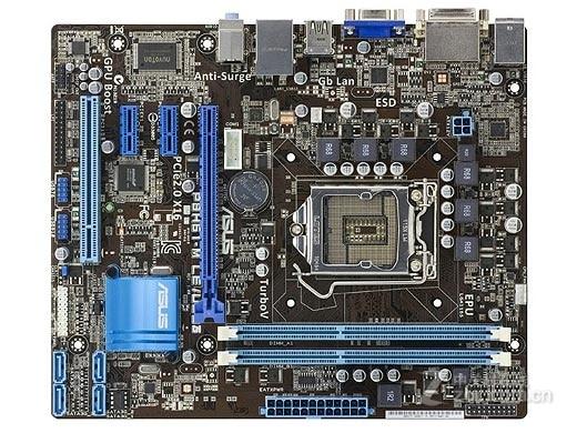 original motherboard for ASUS P8H61-M LE/USB3 LGA 1155 DDR3 for i3 i5 i7 cpu 16GB USB2.0 USB3.0 H61 Desktop motherboard