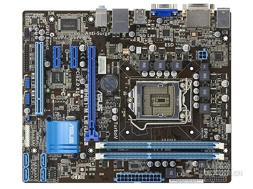 original motherboard for ASUS P8H61-M LE/<font><b>USB3</b></font> LGA 1155 DDR3 for i3 i5 i7 cpu 16GB USB2.0 <font><b>USB3</b></font>.0 H61 Desktop motherboard image