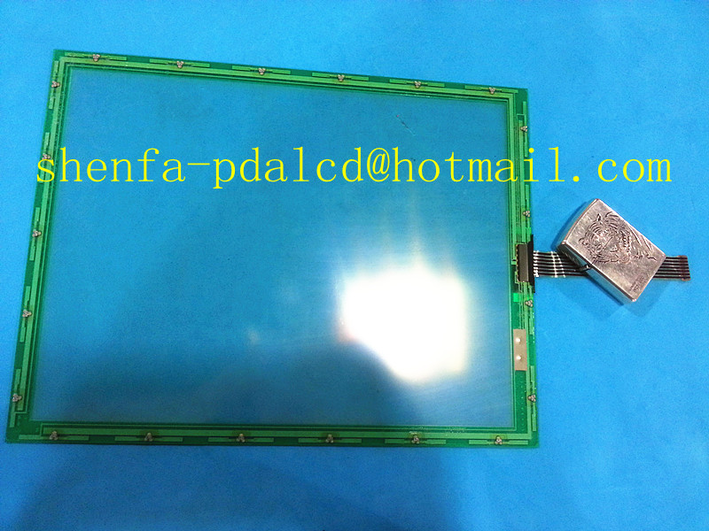Skylarpu 12.1inch 280x214mm 7 wire touchscreen N010-0510-T235 Industrial application control equipment touch screen panel glass