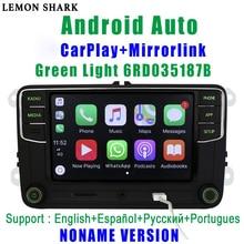 RCD330G Carplay RCD330 בתוספת ירוק אור MIB רכב רדיו 6RD 035 187B Noname אנדרואיד אוטומטי עבור פולקסווגן סקודה אוקטביה פאביה מעולה Yeti