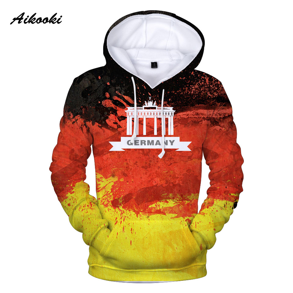 Aliexpress Com Buy Aikooki Germany National Flag 3d Hoodies