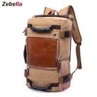 Zebella Brand Stylish Travel Large Capacity Backpack Male Luggage Shoulder Bag Computer Backpacking Men Functional Versatile Bag