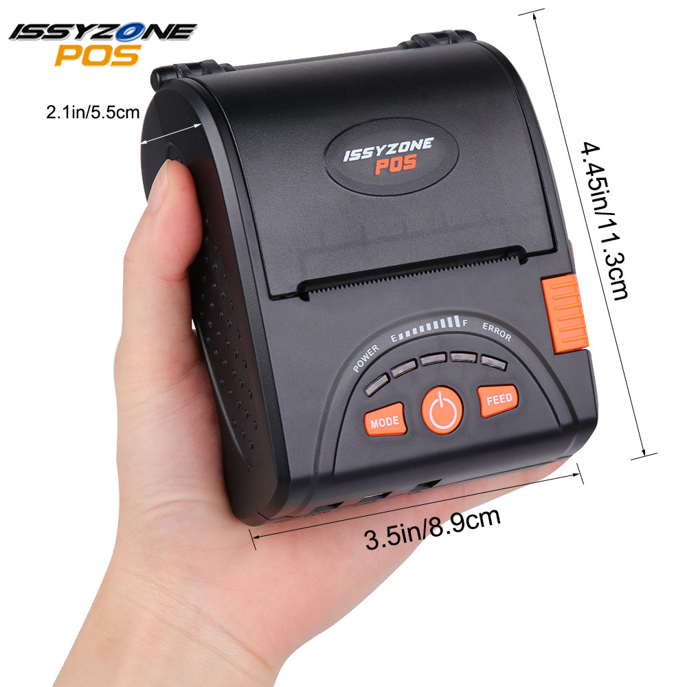 Bluetooth Thermal Printer Portable 80mm Receipt Printer for Android//iOS Systems