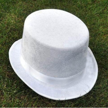 The symbol of the magician white Jazz hat magic hat for magic performance stage magic