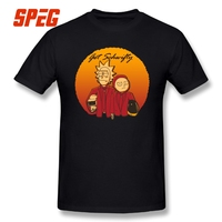Get Schwifty Daft Vers T Shirt Rick And Morty Man O Neck Short Sleeve Tee Shirts
