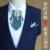 Novo Frete Grátis MODA multicamadas colar de diamantes Coreano casamento do noivo padrinho de casamento DOS HOMENS do sexo masculino gravata com Lenço No Bolso NA venda