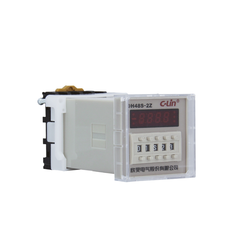 Relay DH48S-2Z Number Show Time Relay Electricity Time Delay Replace JSS48A-2Z Timer AC220V time relay h5cn xbn z