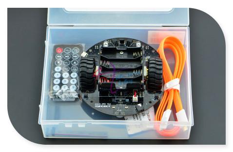 DFRobot MiniQ 2WD Kit Completo V2/carro Inteligente/Robô Móvel Plataforma de aprendizagem, ATmega32u4 Leonardo para arduino iniciante ao avançado