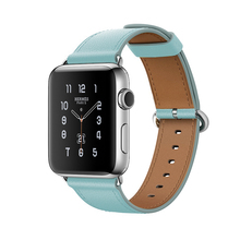 Watchband For Apple Watch 38mm 42mm Band Genuine Leather For iwatch Strap Series 1 2 3 Fashion Simple Style Bracelet Wristband