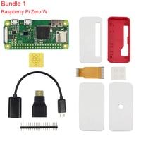 Raspberry Pi Zero W 1 3 Kit Official Case Camera Micro OTG Cable GPIO Header Mini