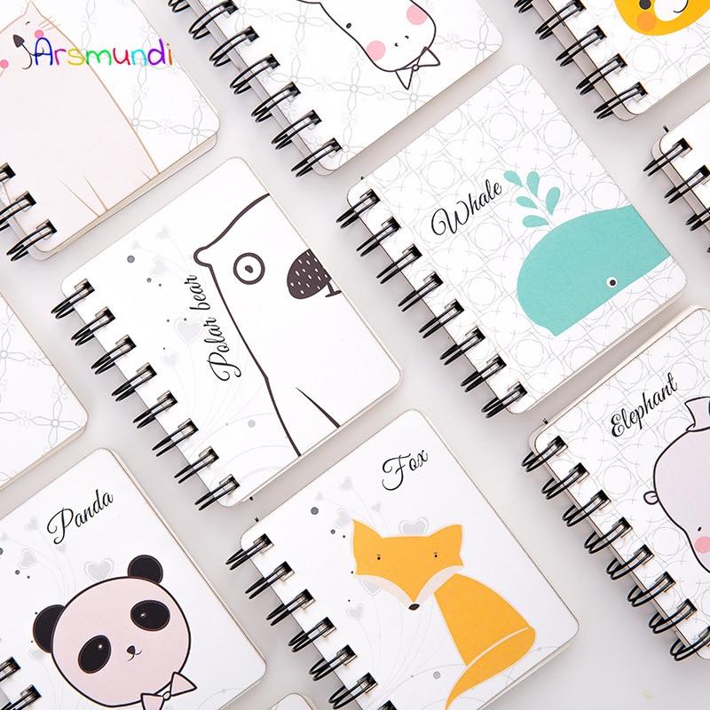 Notebooks Schlussverkauf Arsmundi Spirale Buch Spule Notebook Zu-tun Ausgekleidet Dot Blank Grid Papier Journal Tagebuch Sketch Für Schule Liefert Schreibwaren QualitäTswaren
