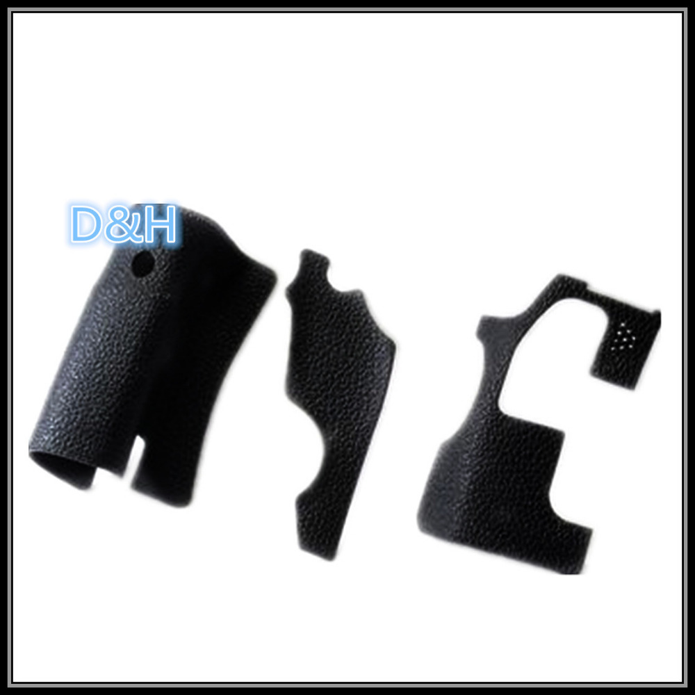NEW COPY A Set Of 3 Pcs Body Rubber For Canon 70D Camera Repair Part Unit  Double Sided Adhesive With 3M