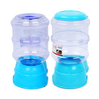 3 5L Large Automatic Cat Puppy Feeder Water Dispenser For Plastic Hot Sale