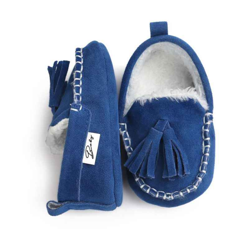 0e34404fc0eae Spring Autumn Winter Baby Boys Girls Pu Leather Shoes Cute Comfortable  Solid Colors Suede Moccasins Princess First Walker Shoes