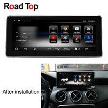 10,25 «Android 7,1 Octa 8-Core Процессор 2 + 32G автомобиль радио gps навигации Bluetooth, Wi-Fi головное устройство экран для Mercedes Benz GLA X156