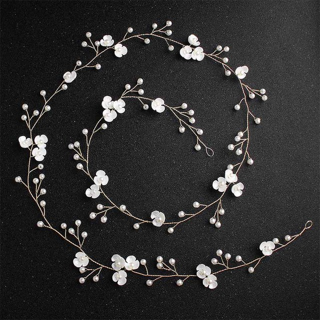 Miallo White Flower Pearls...