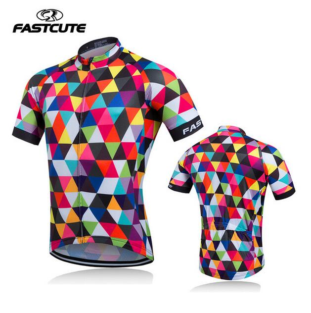 Fastcute  High quality Cycling Jersey Mtb Bicycle Clothing Bike Wear Clothes Short Maillot Roupa Ropa De Ciclismo Hombre Verano