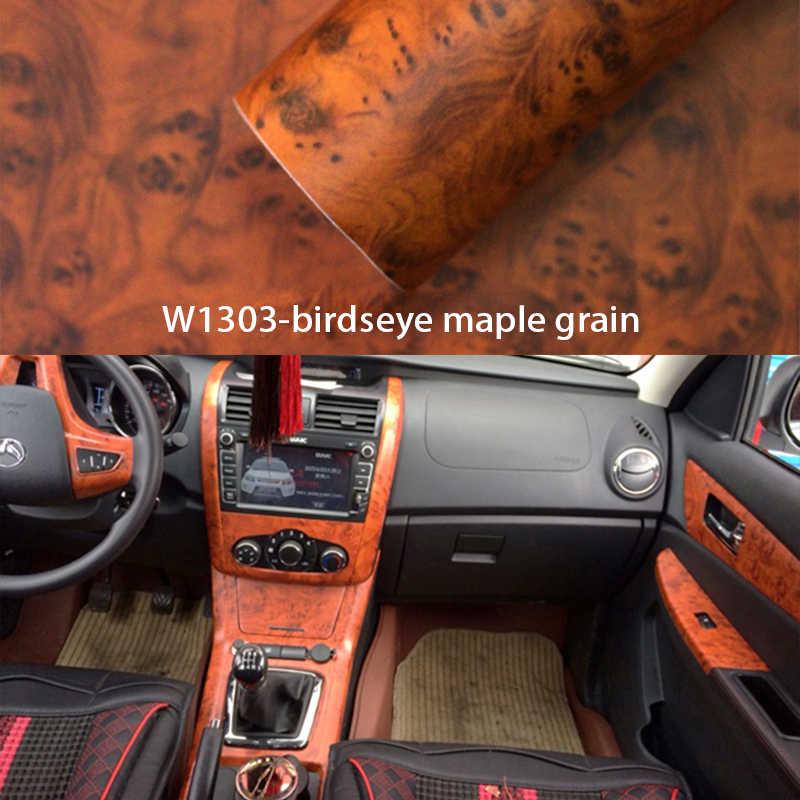 NOANS Holzmaserung Vinyl Wrap Film Auto Innen Aufkleber Für Jeep Renegade wrangler Audi A3 A4 B6 B8 A5 Opel astra h g Zubehör