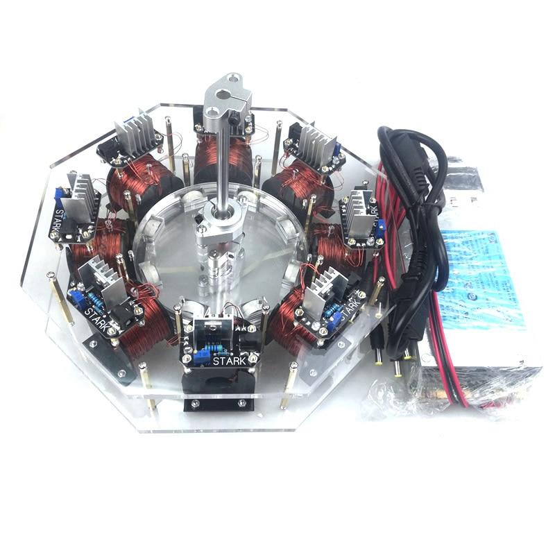 cool Brushless motor disc motor high power motor large Bedini motor pseudo perpetual motion machine