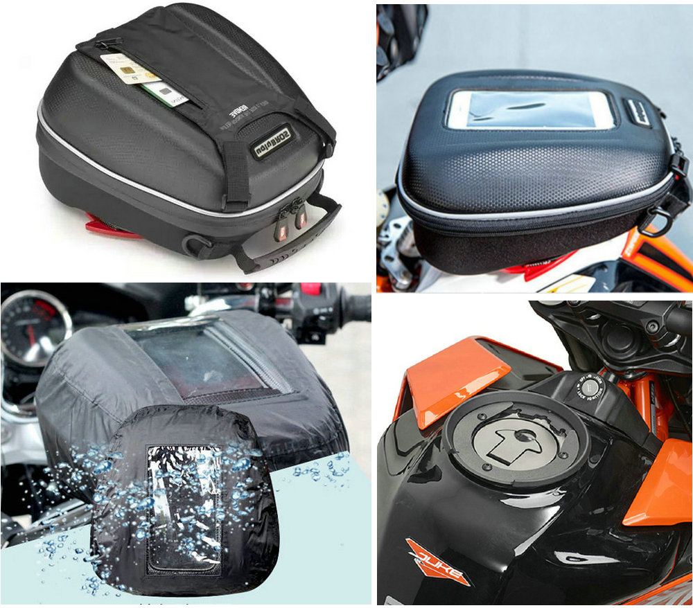 Motorcycle Tank Bags Mobile navigation bag is suitable for ktm duke 125 390 2017 2019 send waterproof cover-in Tank Bags from Automobiles & Motorcycles    1