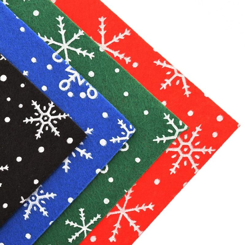 1mm Poliéster Acrílico Fieltro Tela Para la Decoración de Navidad - Artes, artesanía y costura - foto 6