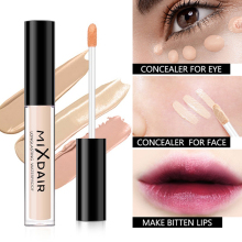 Hot sale Face Liquid Concealer Full Cover Dark Circles Blemish Foundation Cream Primer Makeup Tool