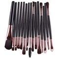 15 Unids/set Pinceles de Maquillaje de Belleza Cosméticos Fundación Blending Blush Pincel de Maquillaje Herramientas de Brocha de Sombra de ojos del Labio Del Ojo