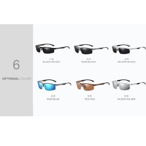 Image 5 - 2019ใหม่มาถึงอลูมิเนียมแว่นตากันแดดHD Polarizedเลนส์แว่นตาVintageแว่นตากันแดดOculosสำหรับผู้ชายชาย605