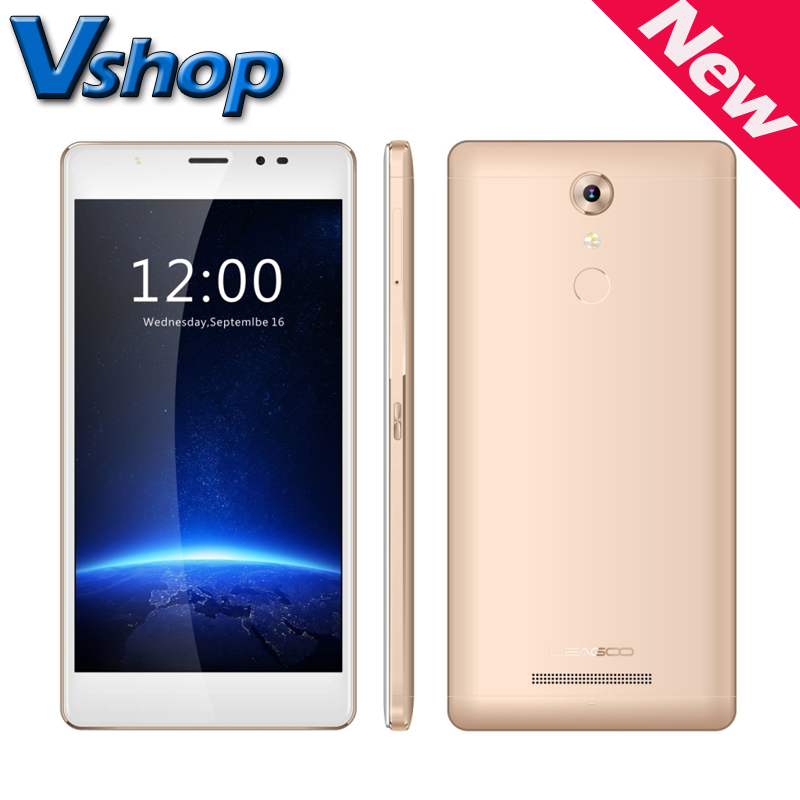 LEAGOO T1 Plus Android 6.0 5.5' 4G LTE MTK6737 Quad Core RAM 3GB ROM 16GB Dual SIM Stylish Selfie Fingerprint FM Mobile Phone